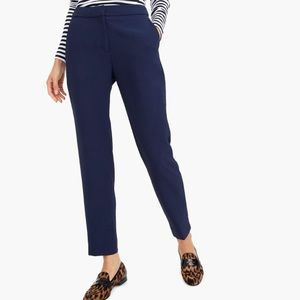 JCrew Petite Navy Pull-on easy pant